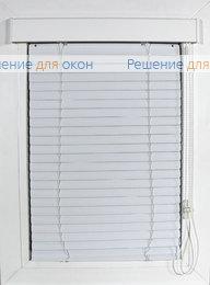 Изолайт 25 мм цвет 0120 Белый матовый от производителя жалюзи и рулонных штор РДО