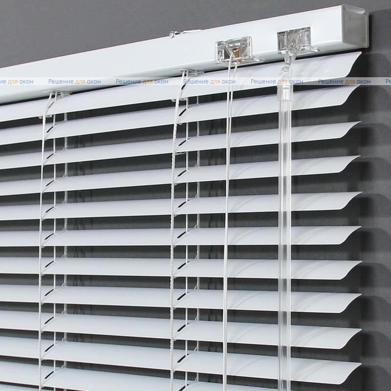 Жалюзи горизонтальные 25 мм, арт. 0120 Белый матовый от производителя жалюзи и рулонных штор РДО
