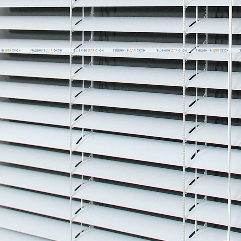 Жалюзи горизонтальные межрамные 25 мм, арт. 0120 Белый матовый от производителя жалюзи и рулонных штор РДО