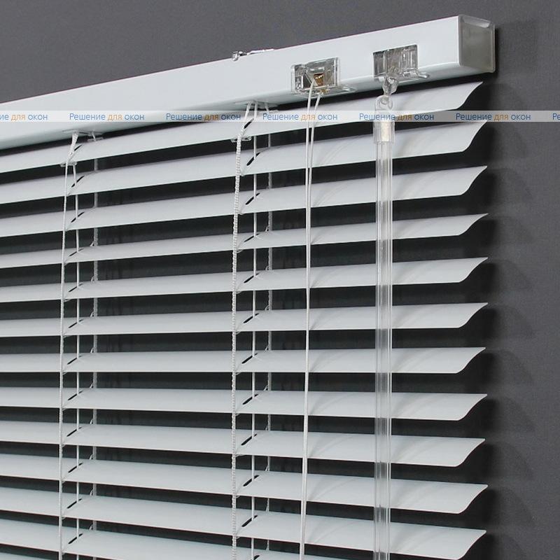 Жалюзи горизонтальные 25 мм, арт. 0225 Белый глянец от производителя жалюзи и рулонных штор РДО