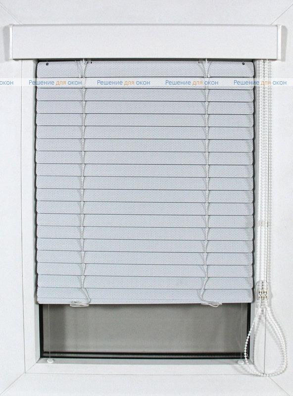 Изолайт 25 мм цвет 0225 Белый перфорация от производителя жалюзи и рулонных штор РДО