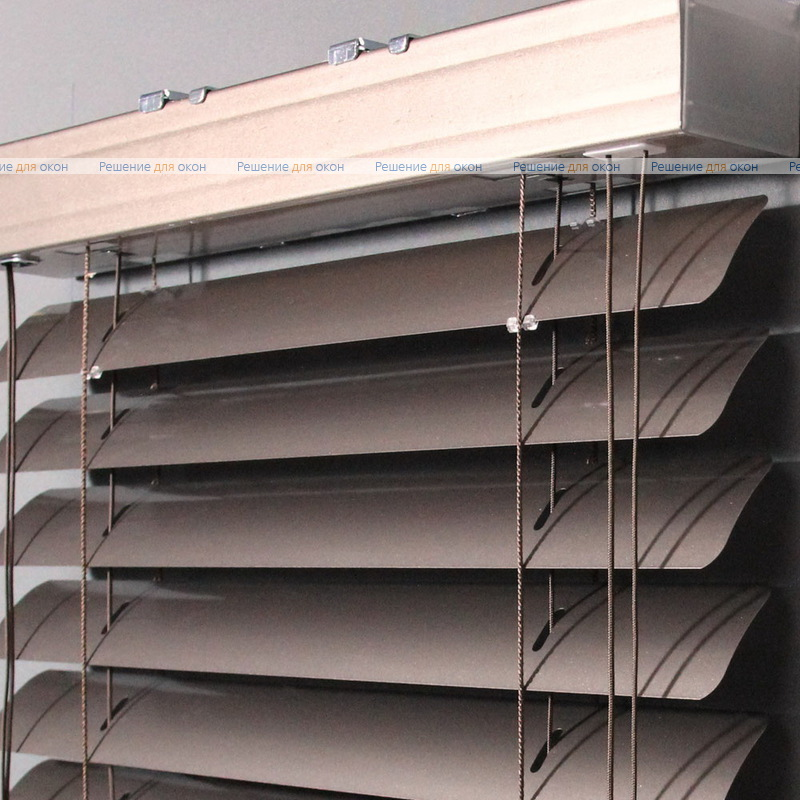 Жалюзи горизонтальные 50 мм, арт. 170 Какао металлик от производителя жалюзи и рулонных штор РДО