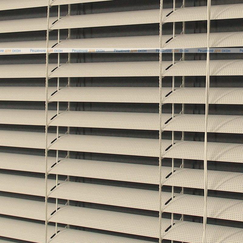 Жалюзи горизонтальные 25 мм, арт. 2259 Св. бежевый перфорация от производителя жалюзи и рулонных штор РДО