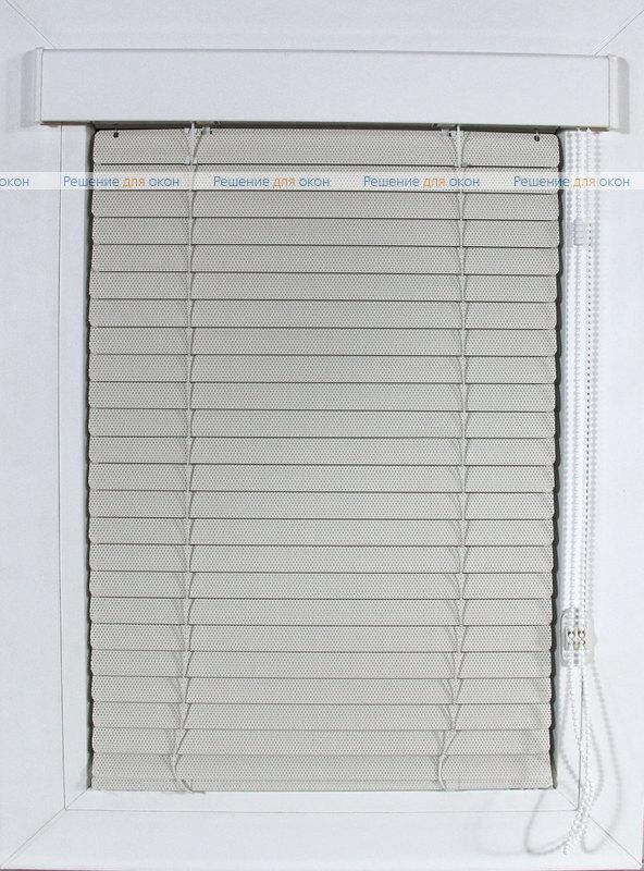 Изолайт 25 мм цвет 2259 Св. бежевый перфорация от производителя жалюзи и рулонных штор РДО