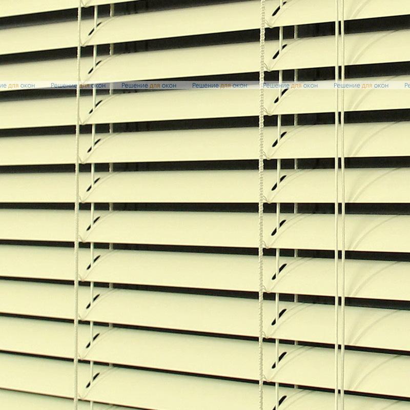 Жалюзи горизонтальные 25 мм, арт. 23 Св. бежевый глянец от производителя жалюзи и рулонных штор РДО