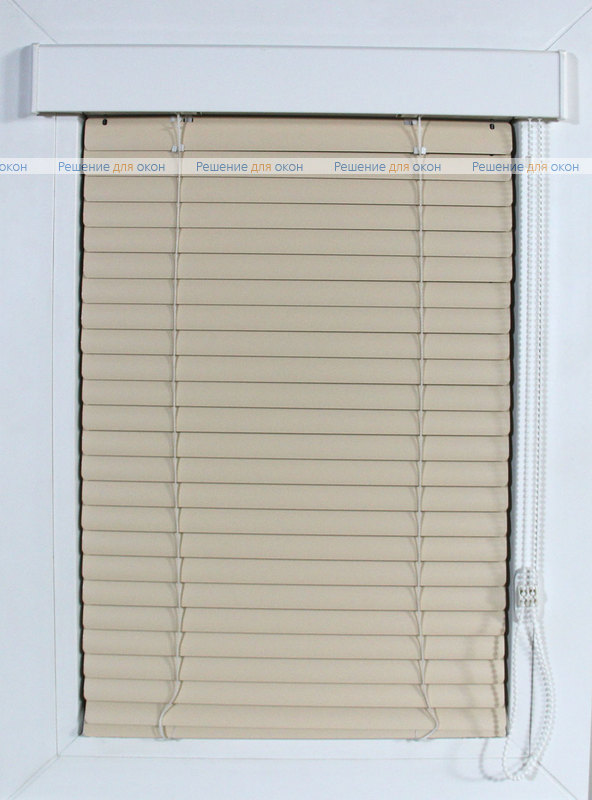Изолайт 25 мм цвет 2549 Св. кремовый от производителя жалюзи и рулонных штор РДО