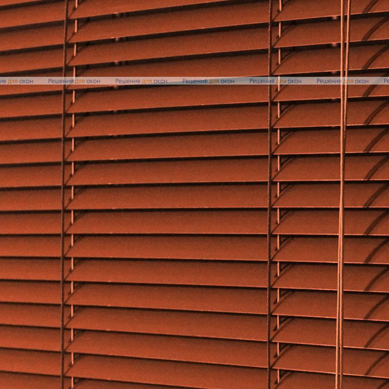 Жалюзи горизонтальные межрамные 16 мм, арт. 2871 Темно коричневый от производителя жалюзи и рулонных штор РДО