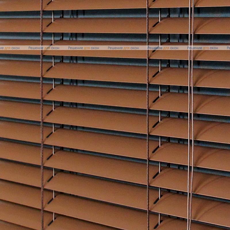 Жалюзи горизонтальные 25 мм, арт. 2871 Темно коричневый от производителя жалюзи и рулонных штор РДО