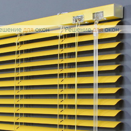 25 мм, Жалюзи горизонтальные 25 мм, арт. 3204 Ярко желтый от производителя жалюзи и рулонных штор РДО
