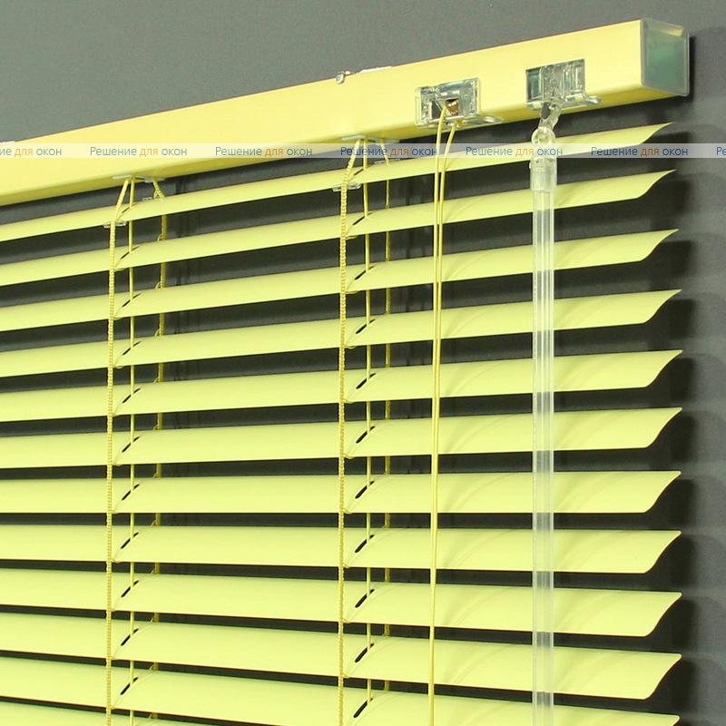 Жалюзи горизонтальные 25 мм, арт. 3209 Св. желтый от производителя жалюзи и рулонных штор РДО