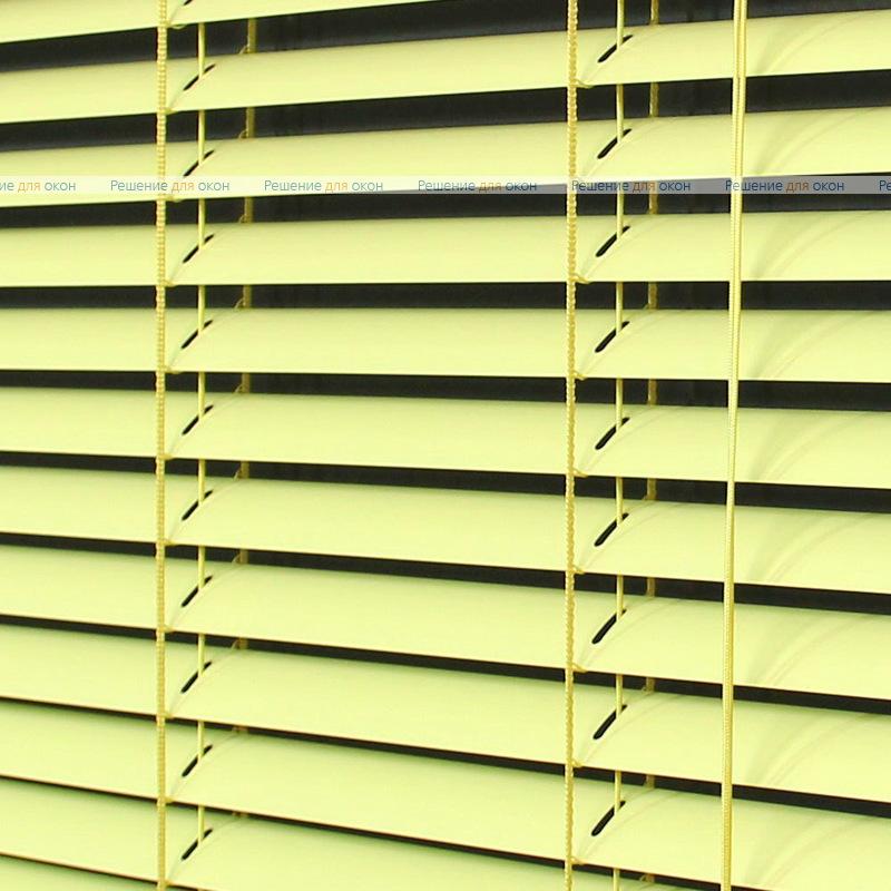 Жалюзи горизонтальные межрамные 25 мм, арт. 3209 Св. желтый от производителя жалюзи и рулонных штор РДО