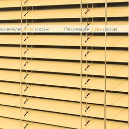 Жалюзи горизонтальные межрамные 25 мм, арт. 3458 Желтый матовый от производителя жалюзи и рулонных штор РДО