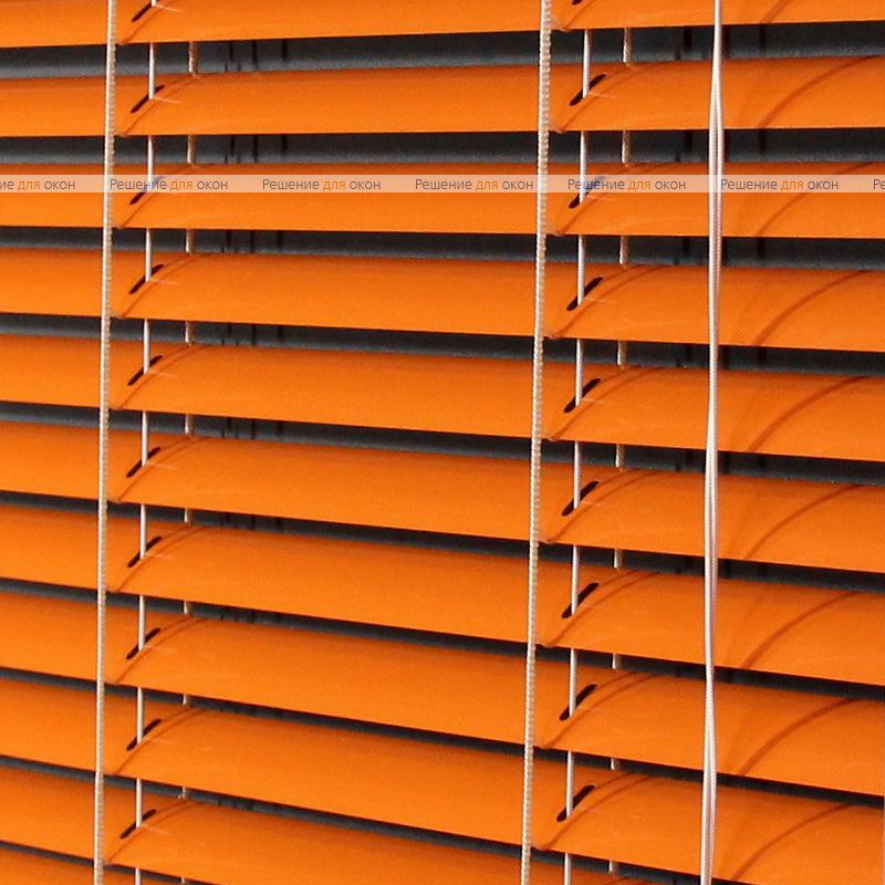 Жалюзи горизонтальные межрамные 25 мм, арт. 3499 Оранжевый от производителя жалюзи и рулонных штор РДО