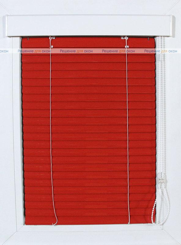Изолайт 25 мм цвет 4077 Красный от производителя жалюзи и рулонных штор РДО