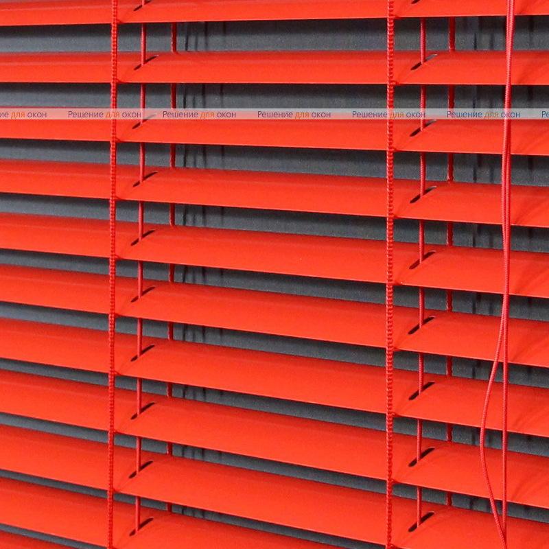Жалюзи горизонтальные межрамные 25 мм, арт. 4077 Красный от производителя жалюзи и рулонных штор РДО
