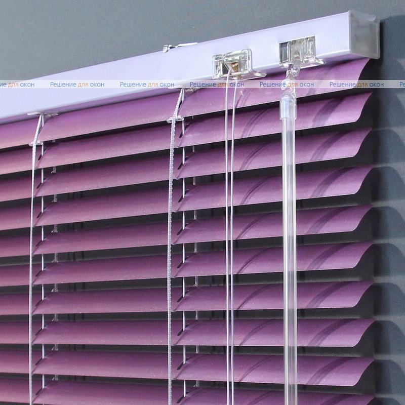 Жалюзи горизонтальные 25 мм, арт. 490 Орхидея металлик от производителя жалюзи и рулонных штор РДО