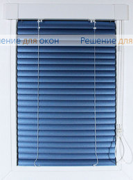 Жалюзи Хит на створку окна, ИзотраХит 25 мм цвет 491 Синий металлик от производителя жалюзи и рулонных штор РДО