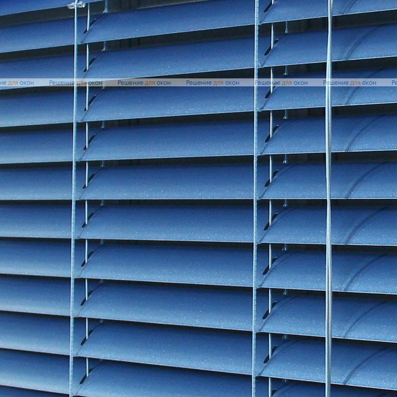 Жалюзи горизонтальные межрамные 25 мм, арт. 491 Синий металлик от производителя жалюзи и рулонных штор РДО