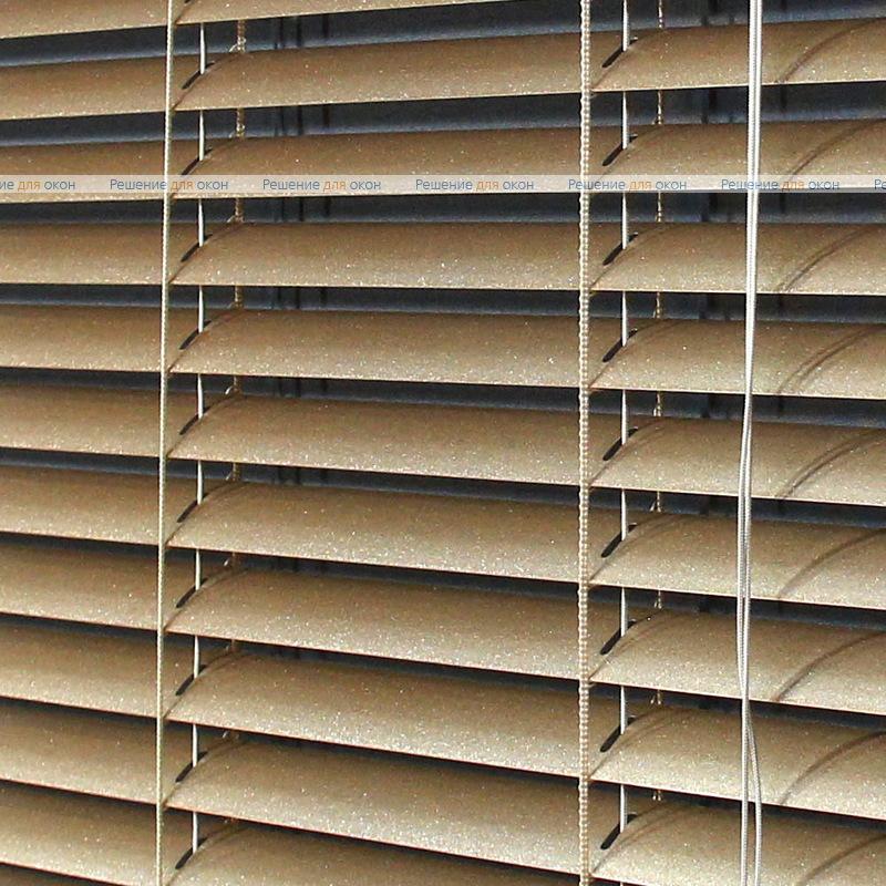 Жалюзи горизонтальные 25 мм, арт. 50 Золото от производителя жалюзи и рулонных штор РДО