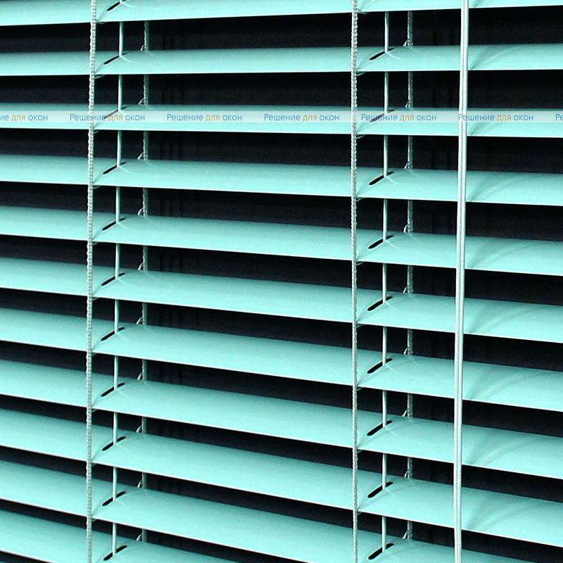 Жалюзи горизонтальные 25 мм, арт. 5608 Св. бирюзовый от производителя жалюзи и рулонных штор РДО