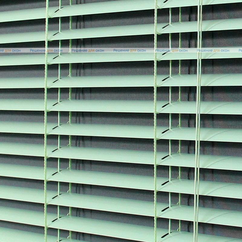 Жалюзи горизонтальные межрамные 25 мм, арт. 5850 Светло зеленый от производителя жалюзи и рулонных штор РДО