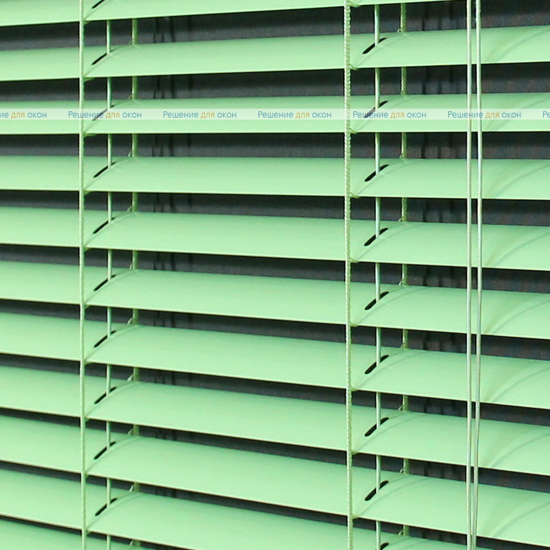 Жалюзи горизонтальные 25 мм, арт. 5853 Салатовый от производителя жалюзи и рулонных штор РДО
