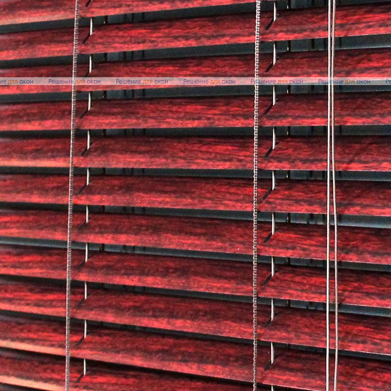 Жалюзи горизонтальные межрамные 25 мм, арт. 6016 Тик от производителя жалюзи и рулонных штор РДО