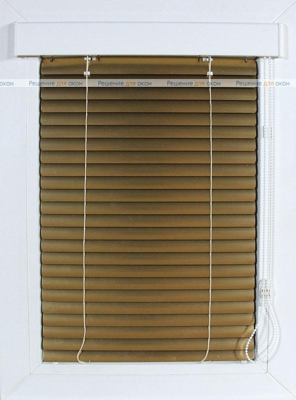 Изолайт 25 мм цвет 7122 Желтое золото металлик от производителя жалюзи и рулонных штор РДО