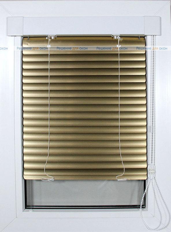 ИзотраХит 25 мм цвет 7122 Желтое золото металлик от производителя жалюзи и рулонных штор РДО