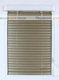 Жалюзи  Хит 2 на створку окна, ИзотраХит-2 25 мм цвет 7125 Желтое золото от производителя жалюзи и рулонных штор РДО
