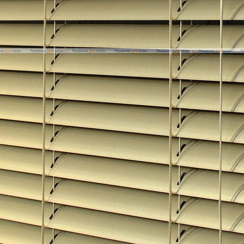 Жалюзи горизонтальные межрамные 25 мм, арт. 7125 Желтое золото от производителя жалюзи и рулонных штор РДО