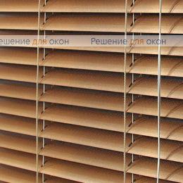 Жалюзи горизонтальные межрамные 25 мм, арт. 7128 Красное золото перфорация от производителя жалюзи и рулонных штор РДО