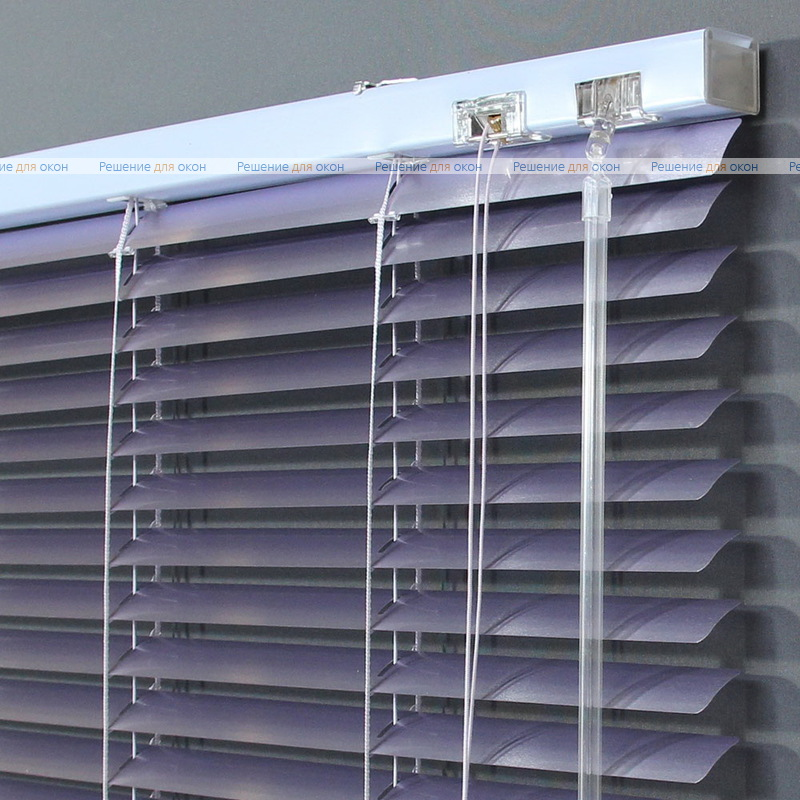 Жалюзи горизонтальные 25 мм, арт. 7255 Сиреневый металлик от производителя жалюзи и рулонных штор РДО
