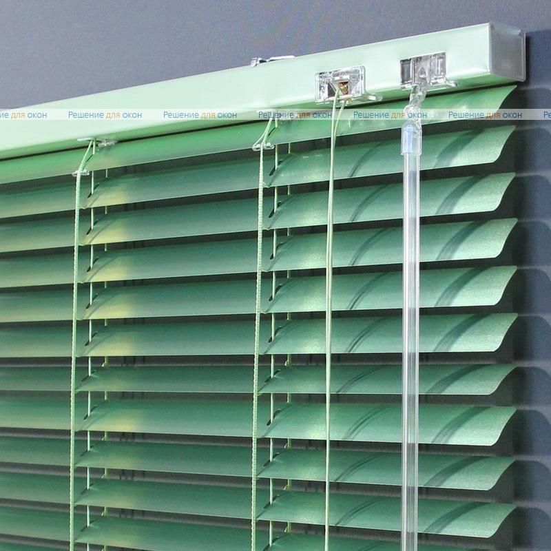 Жалюзи горизонтальные 25 мм, арт. 7256 Зеленый металлик от производителя жалюзи и рулонных штор РДО