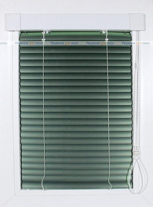 ИзотраХит 25 мм цвет 7256 Зеленый металлик от производителя жалюзи и рулонных штор РДО