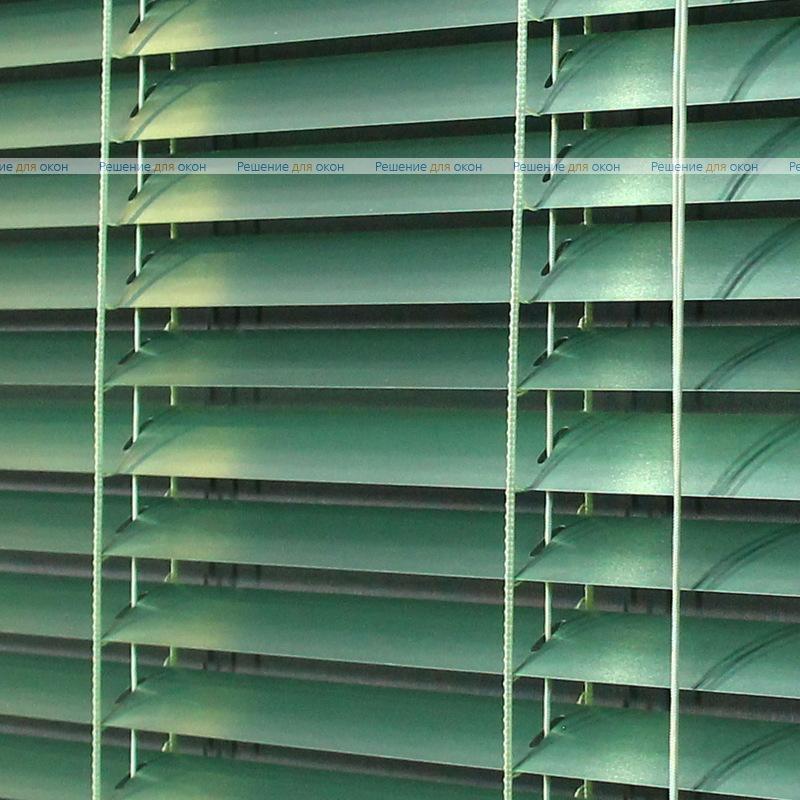 Жалюзи горизонтальные межрамные 25 мм, арт. 7256 Зеленый металлик от производителя жалюзи и рулонных штор РДО