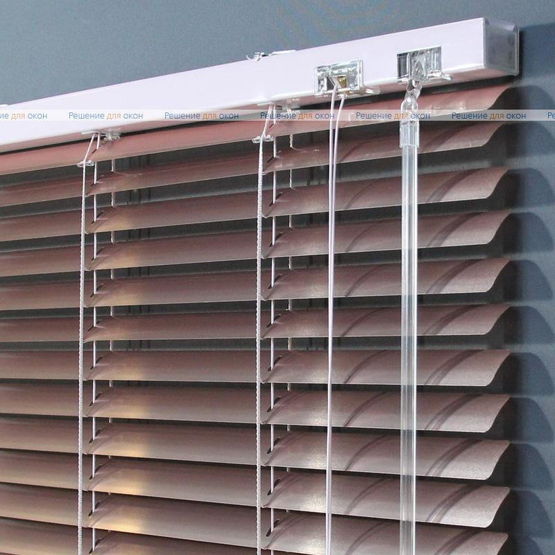 Жалюзи горизонтальные 25 мм, арт. 7257 Персиковый металлик от производителя жалюзи и рулонных штор РДО