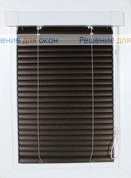 Жалюзи Хит на створку окна, ИзотраХит 25 мм цвет 7258 Бронзовый металлик от производителя жалюзи и рулонных штор РДО