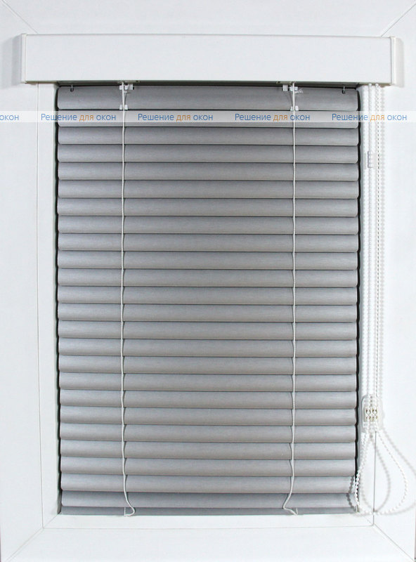 Изолайт 25 мм цвет 7505 Штрих серебро от производителя жалюзи и рулонных штор РДО