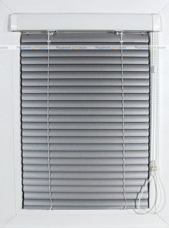 ИзотраХит-2 25 мм цвет 7505 Штрих серебро от производителя жалюзи и рулонных штор РДО