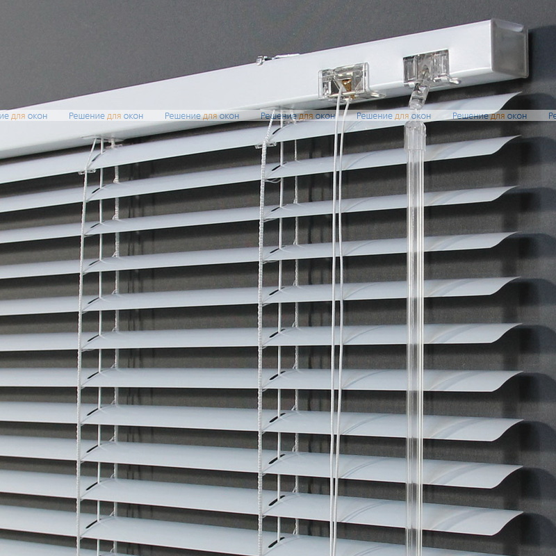 Жалюзи горизонтальные 25 мм, арт. 9002 Белый перламутр от производителя жалюзи и рулонных штор РДО