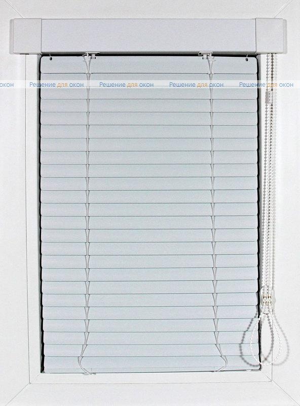 ИзотраХит 25 мм цвет 9002 Белый перламутр от производителя жалюзи и рулонных штор РДО