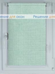 Рулонные шторы КОМПАКТ БОСТОН 4168 светло-голубой от производителя жалюзи и рулонных штор РДО