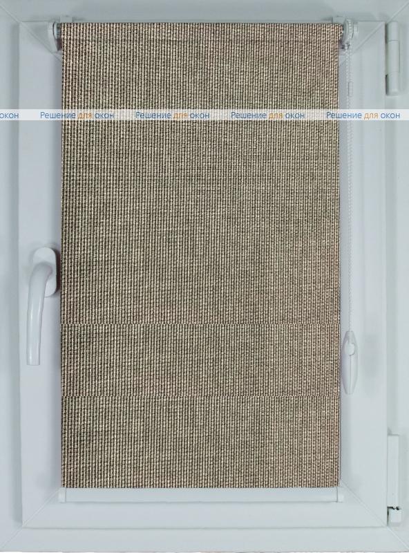 Рулонные шторы КОМПАКТ БОСТОН 9193 темно-серый от производителя жалюзи и рулонных штор РДО