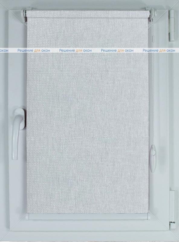 Рулонные шторы КОМПАКТ БОСТОН Б/О 9191 светло-серый от производителя жалюзи и рулонных штор РДО