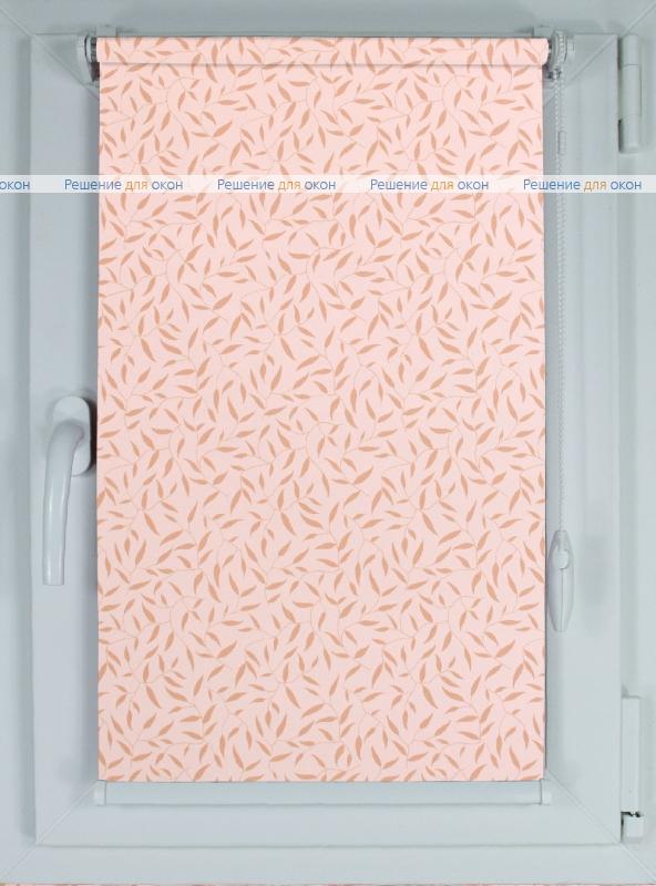 Рулонные шторы КОМПАКТ КАЛИФОРНИЯ 3 розовый от производителя жалюзи и рулонных штор РДО