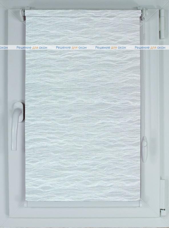 Рулонные шторы КОМПАКТ КАПЕЛЛИ 1 белый от производителя жалюзи и рулонных штор РДО