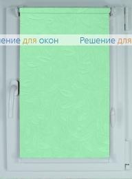 Рулонные шторы КОМПАКТ ЭЛЕГИЯ 4 салатовый от производителя жалюзи и рулонных штор РДО