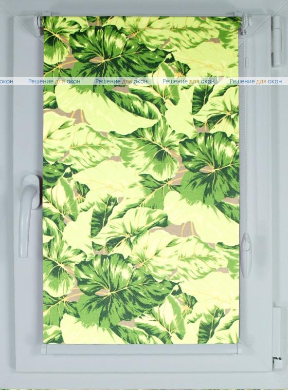 Рулонные шторы КОМПАКТ ГАРДЕН 01 (зел) от производителя жалюзи и рулонных штор РДО
