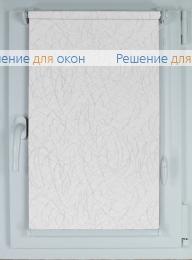 Рулонные шторы КОМПАКТ МИЛАН Б/О 01 белый от производителя жалюзи и рулонных штор РДО